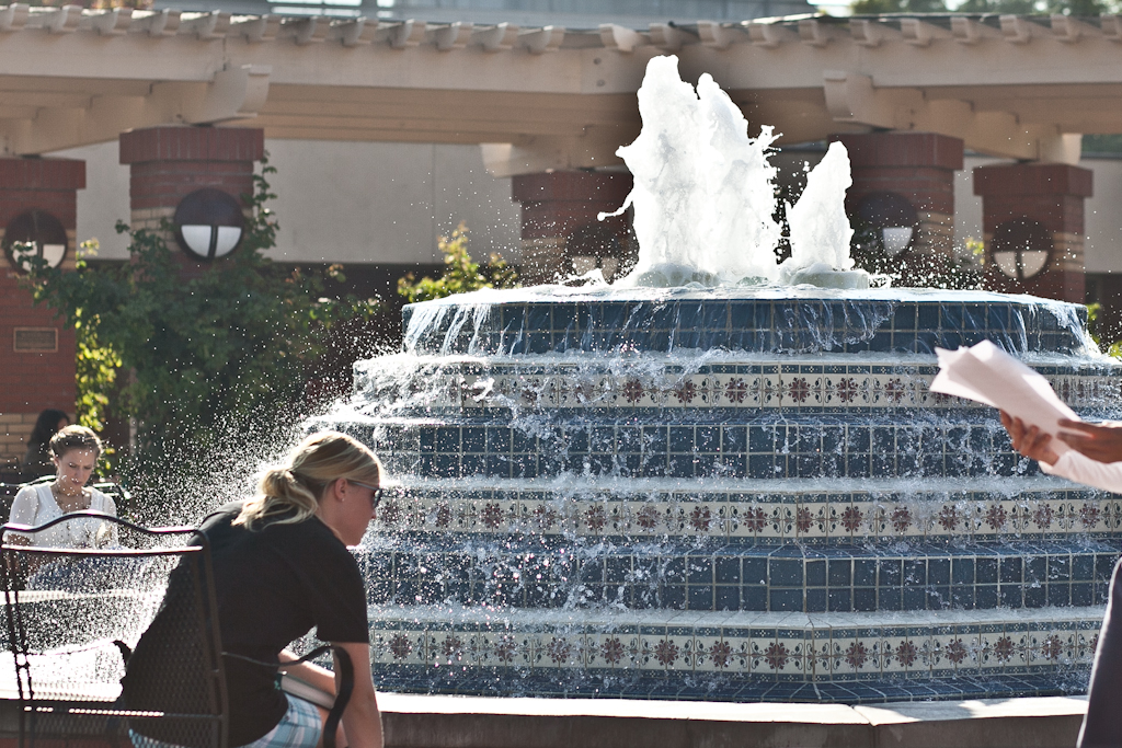 Fact of the Week: Fluor Fountain carries legacy of former AS president