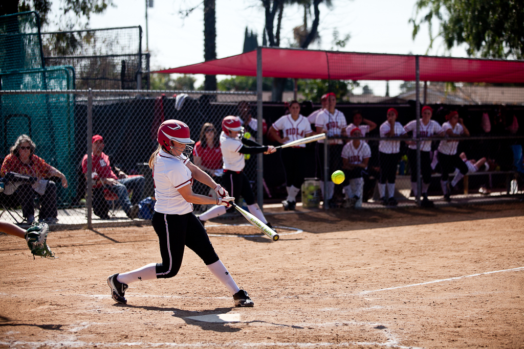 Softball drops home doubleheader to Concordia