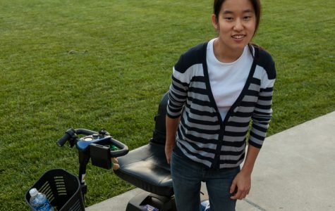 Disabled student advocates for support of students with disabilities