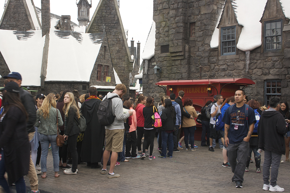 The muggles of opening day