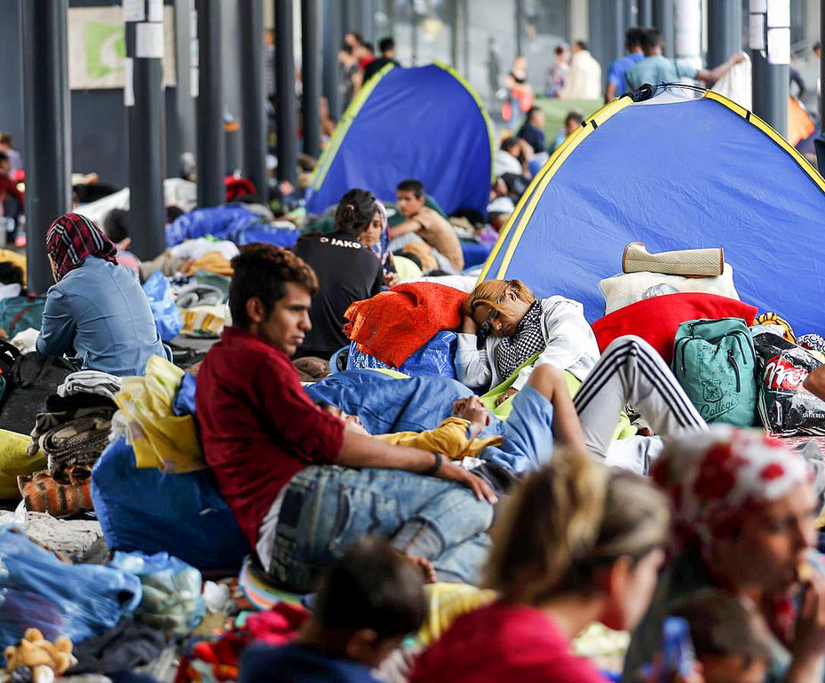 Do more than accept refugees, provide for them