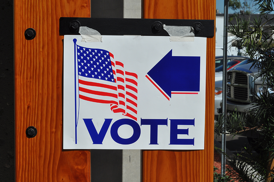 The value of not voting in an unpopular election