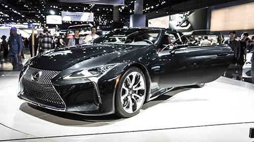 That time I…experienced the L.A. Auto Show