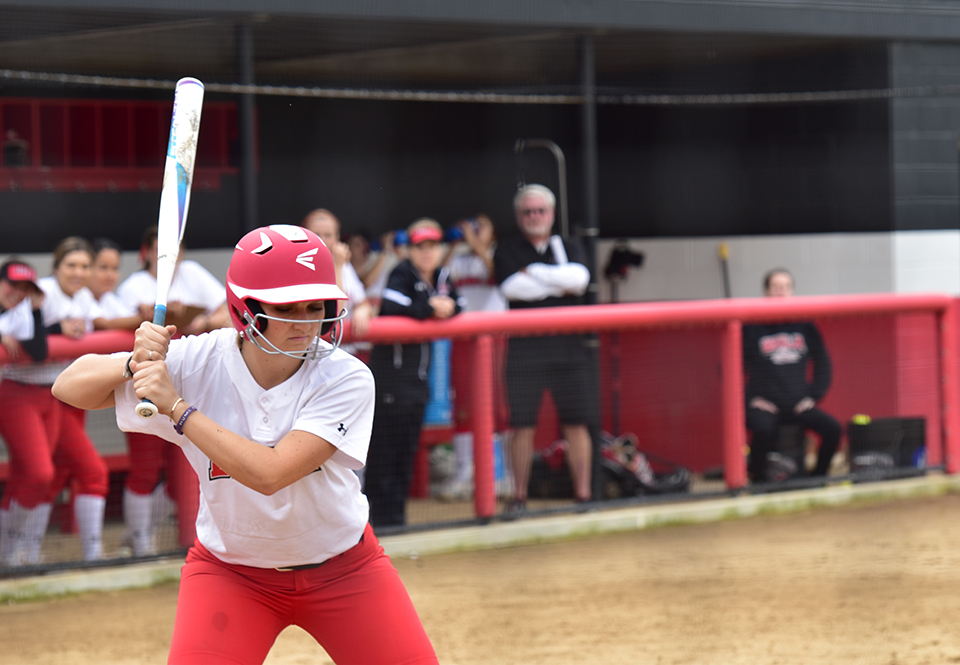 Dominance at the plate propels softball's success