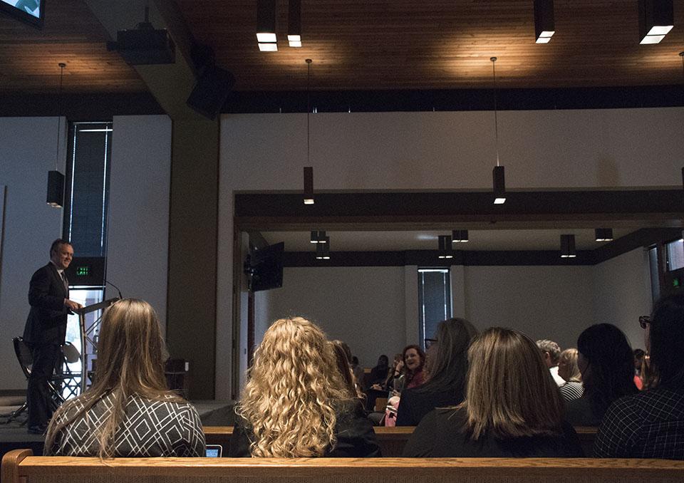 President Corey leads conversation on women