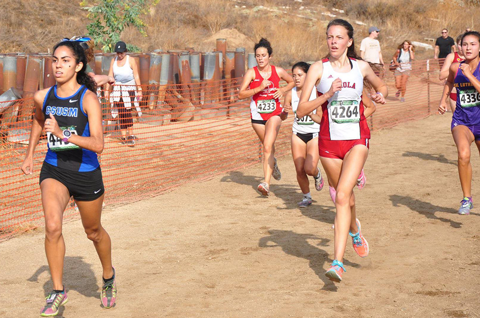 Cross country finishes middle of the pack at UCR