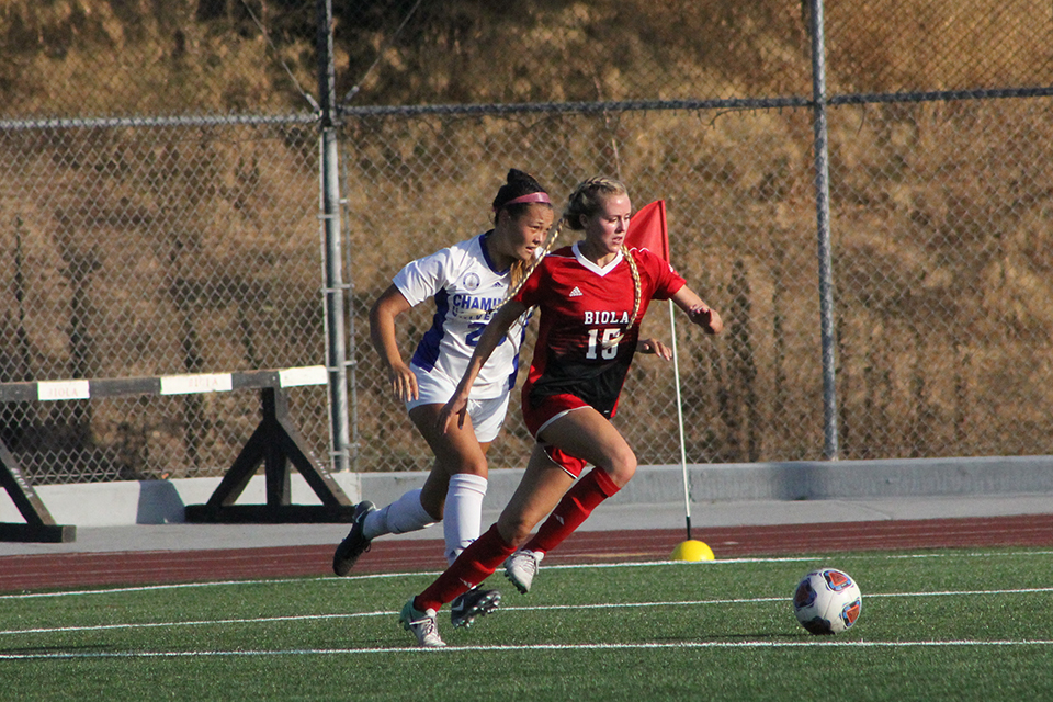Chimes' Athlete of the Week: Women's soccer's Colie Martin