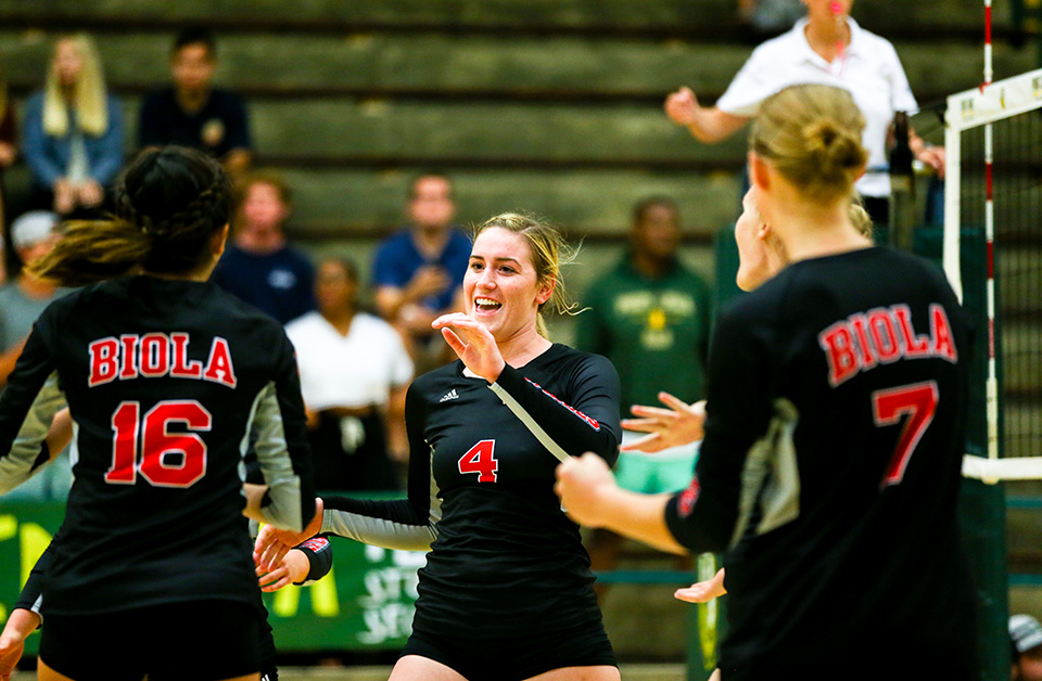 Volleyball loses tight match to CBU