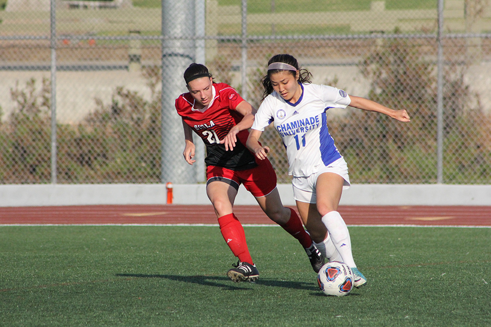 Women's soccer continues to dominate