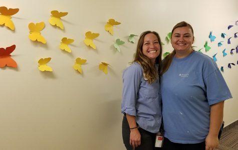 Custodians bring joy to campus