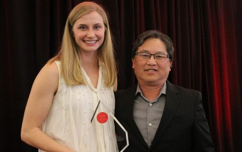 Student receives Ruby Award for showing strength in adversity