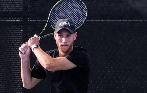 Men's tennis comes out strong in victory