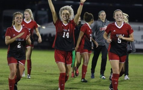 Women's soccer successful on day one of nationals