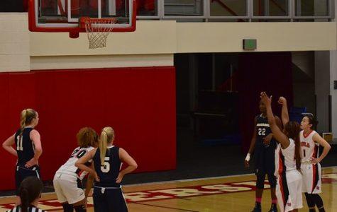 Women's basketball wins a nail-biter