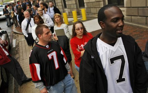 Five Falcons fined for displaying Michael Vick messages