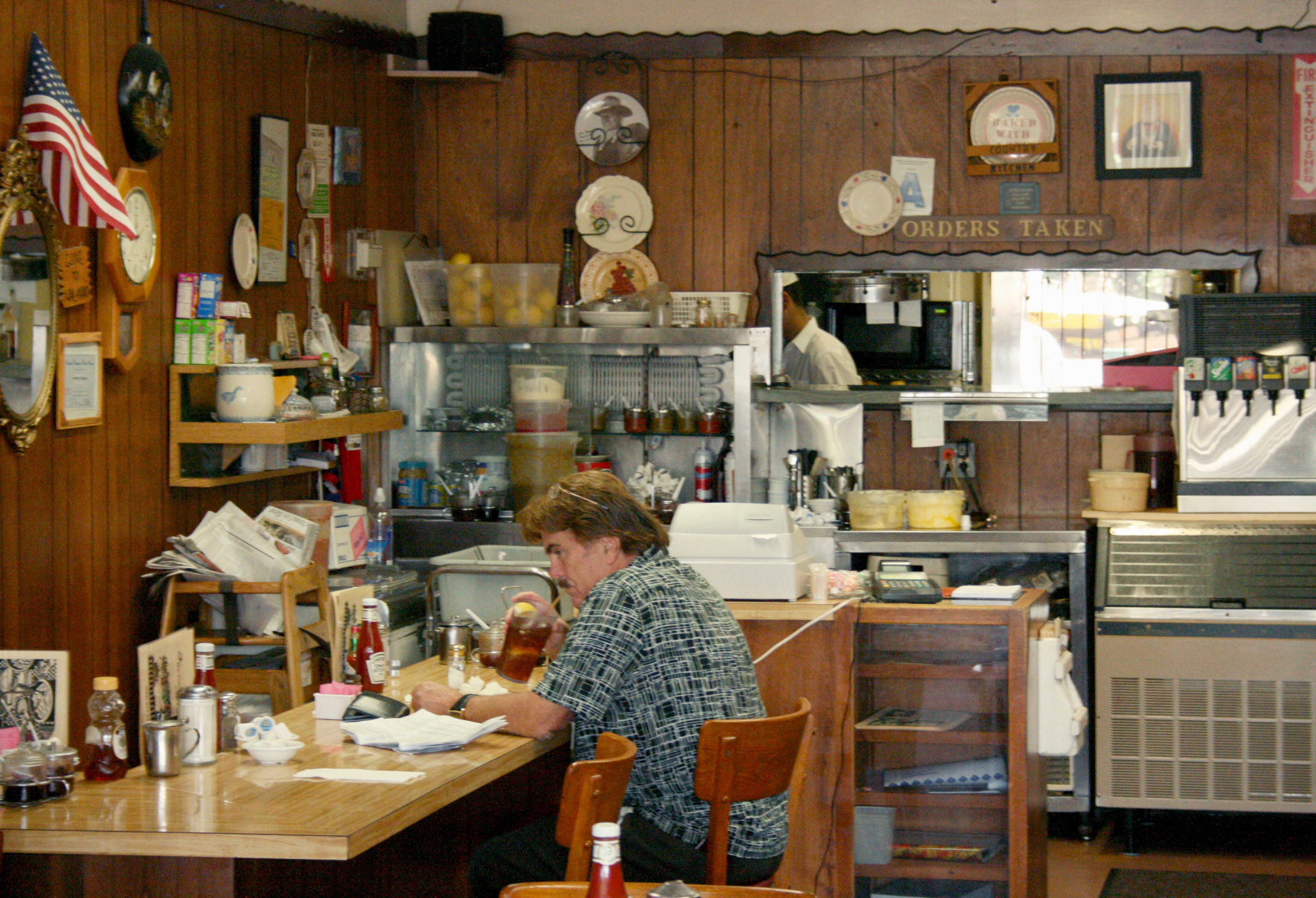 Jenny's Country Kitchen in Sante Fe Springs is a hole-in-the-wall with major charm and great food.  It is located at 13319 E.  Telegraph Road, about nine minutes from campus.   Photo by Kyle Gilbertson