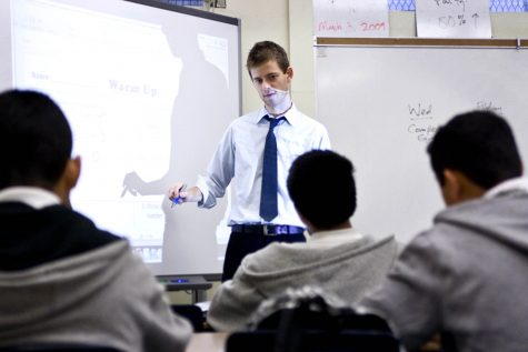 Student teachers come to terms with new lessons