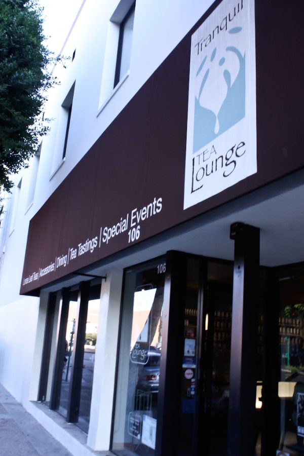 Tranquil Tea Lounge is located in Fullerton on West Wilshire Ave. | Amber Amaya/THE CHIMES