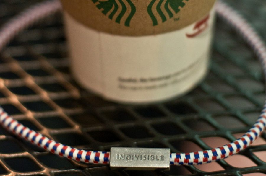 Starbucks has begun selling bracelets with the intent of finding jobs for the American unemployed. | Jessica Lindner/THE CHIMES