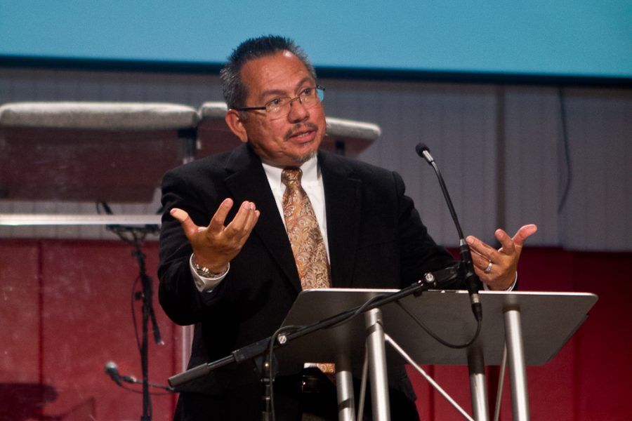 Biola's associate provost of diversity, Pete Menjares is set to become university president of Fresno Pacific University. | Job Ang/THE CHIMES