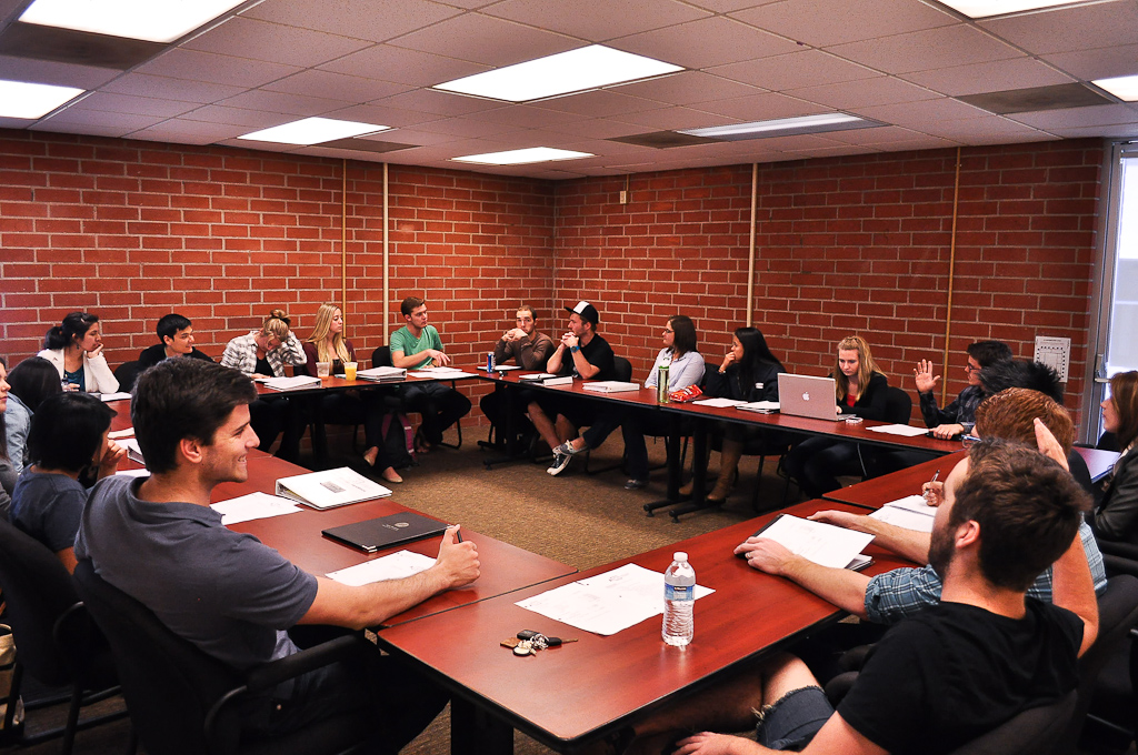 AS meets every Tuesday afternoon to discuss campus proposals and plans. | Meagan Garton/THE CHIMES