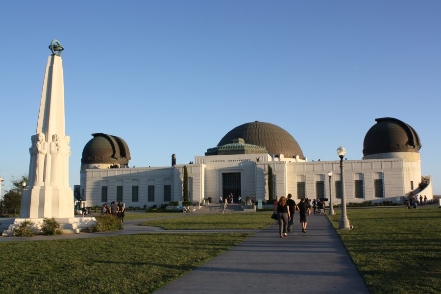 High above Los Angeles, the Griffith Observatory houses telescopes and exhibits on space. | Amy Seed/THE CHIMES