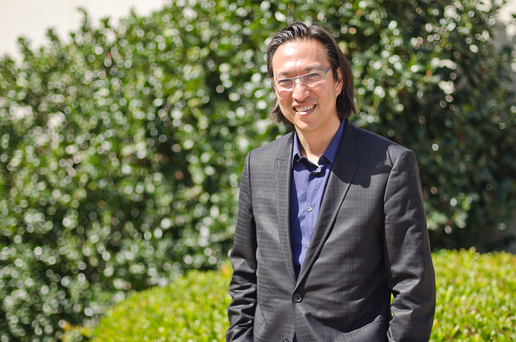Makoto Fujimura of the International Arts Movement explored the role of the arts in Christian expression during his visit to Biola University. | Jessica Lindner/THE CHIMES