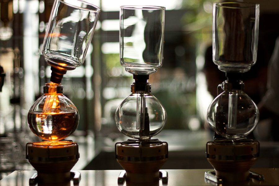 Portola strives to make an art and science out of their coffee brewing techniques. | Hannah Caprara/THE CHIMES