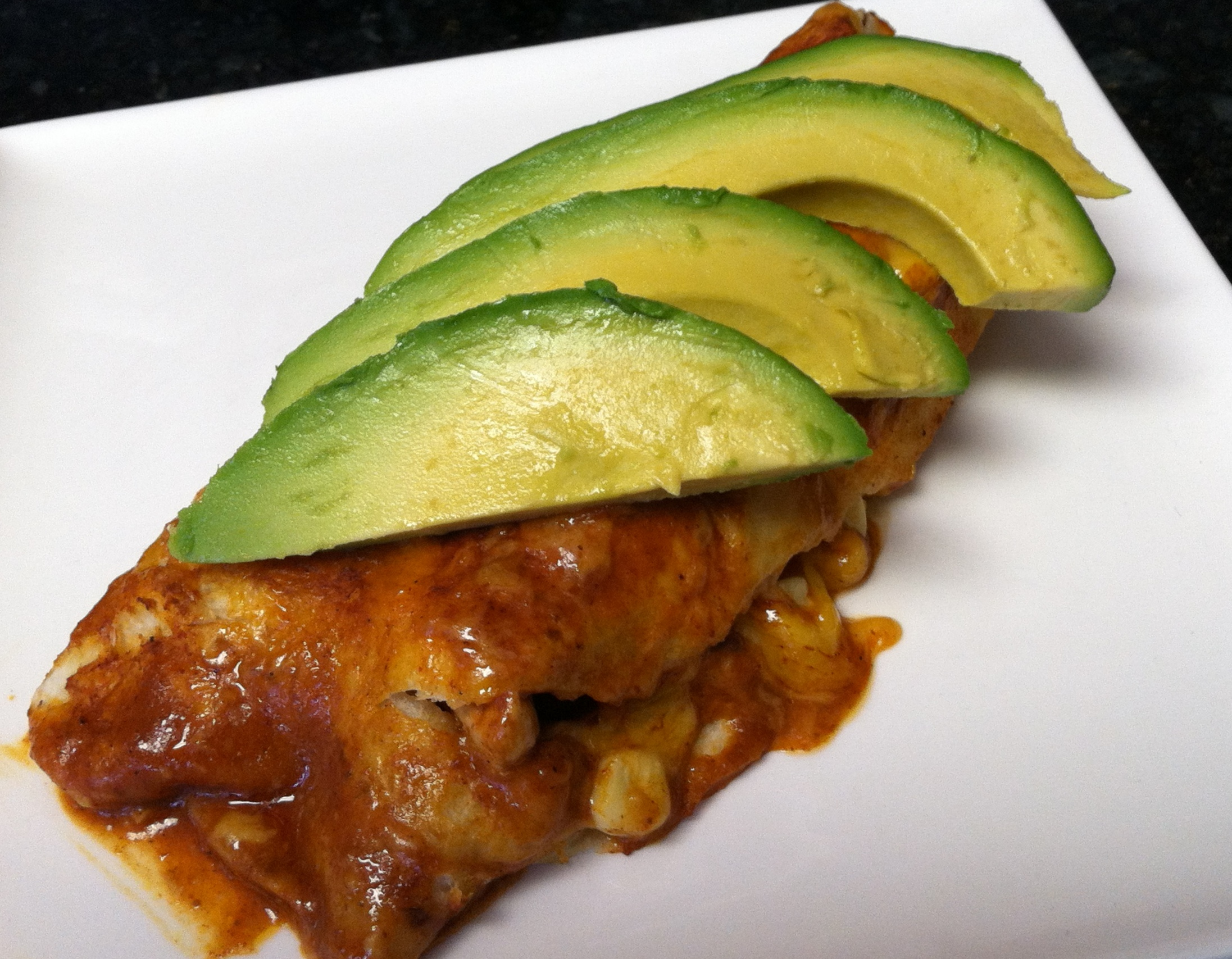 A seasonal take on enchiladas
