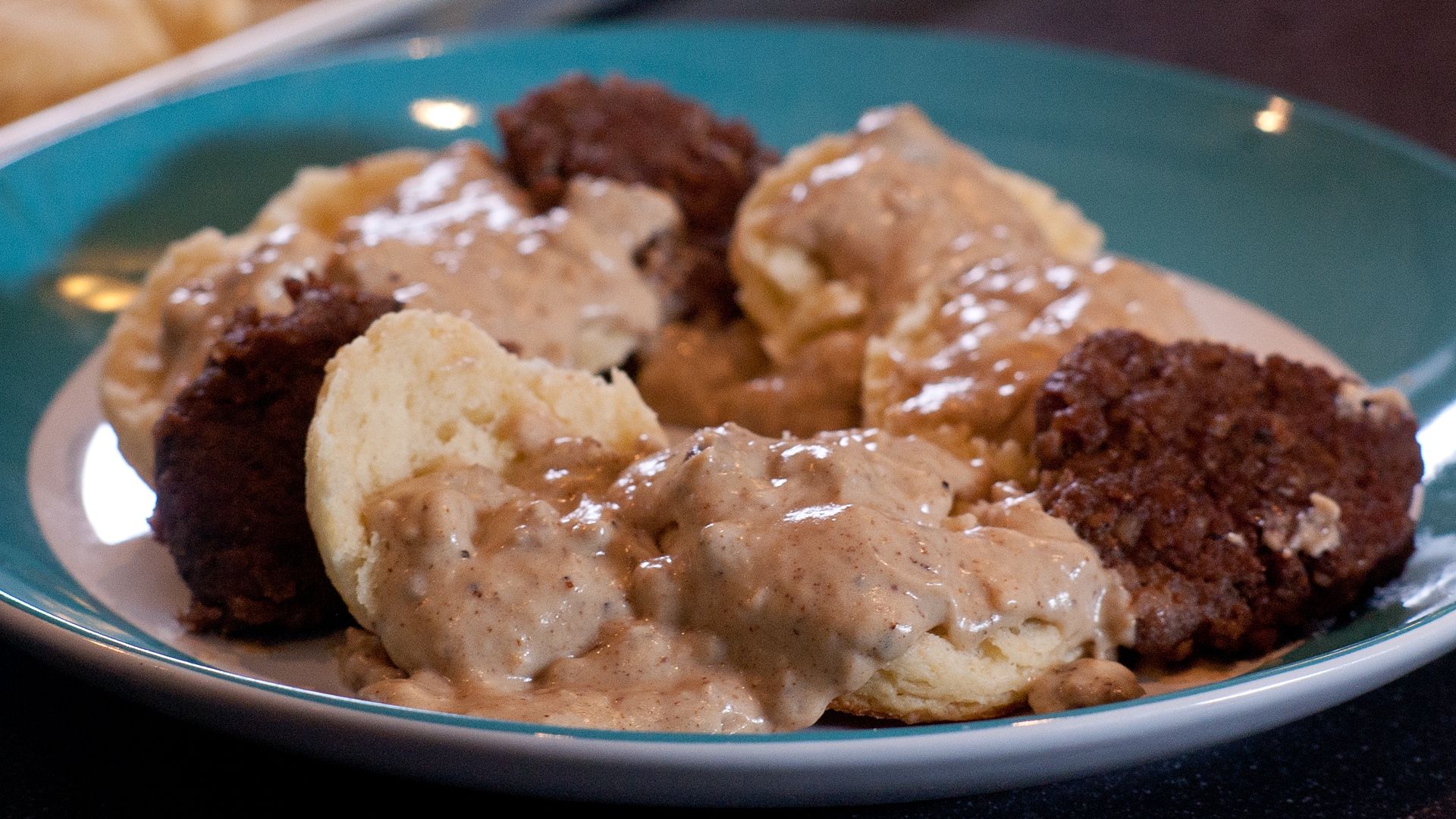 Biscuits and gravy: indulge in a simple Southern snack