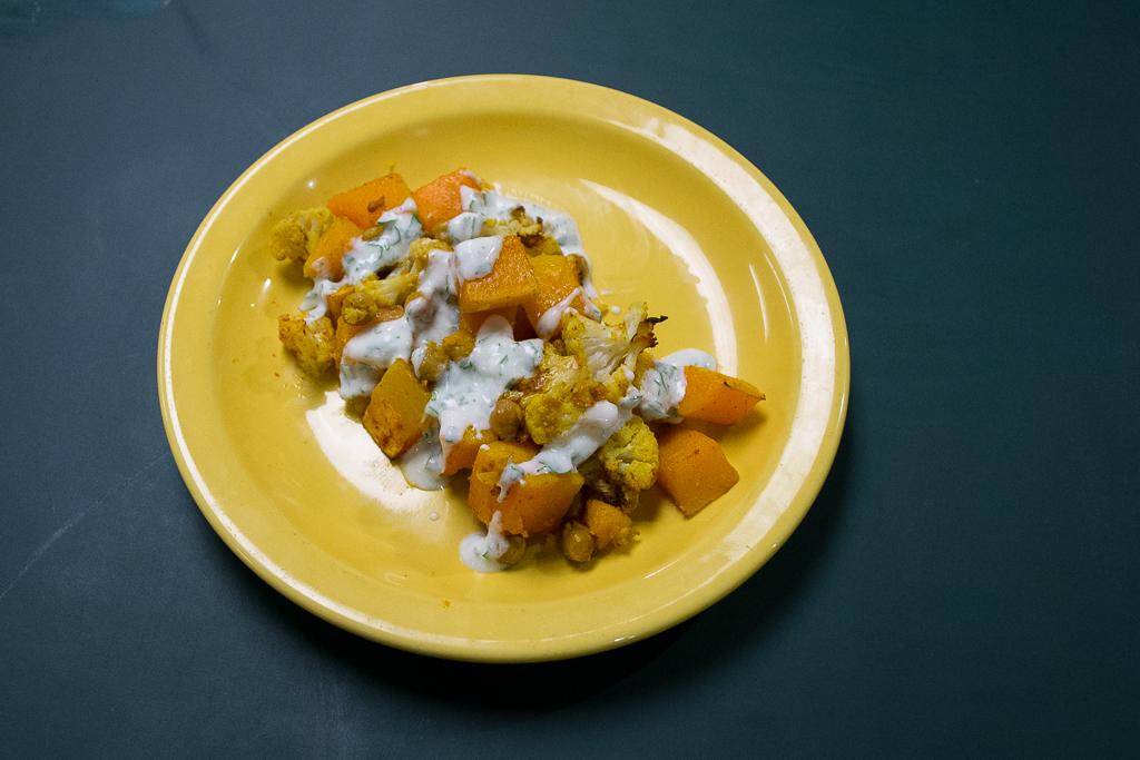 Warming up the season with an international, vegetarian dish