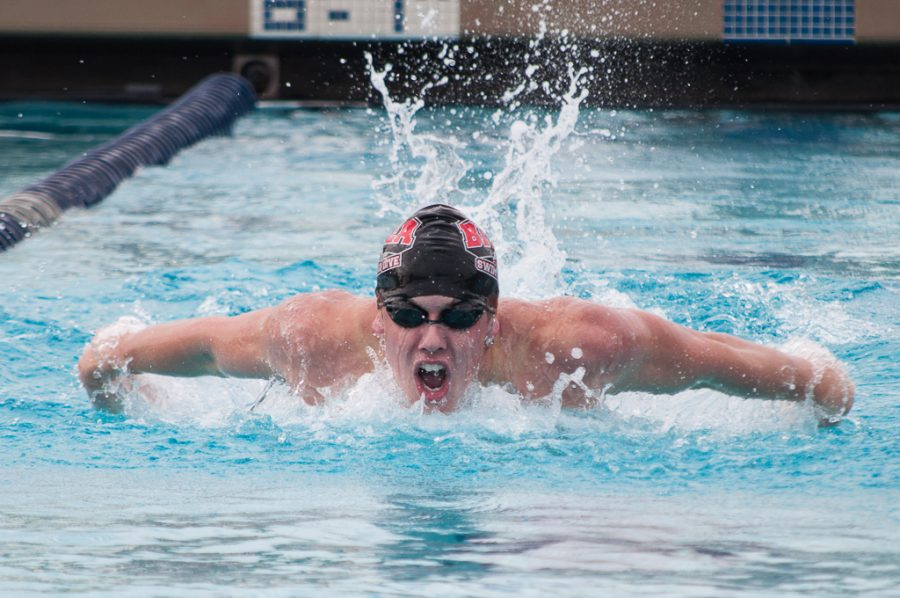 Men's 200 Butterfly - Eric Sirjord | David Wahlman/THE CHIMES