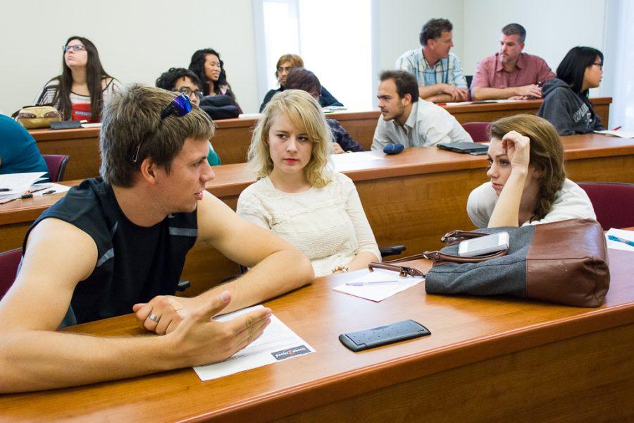 In a seminar called