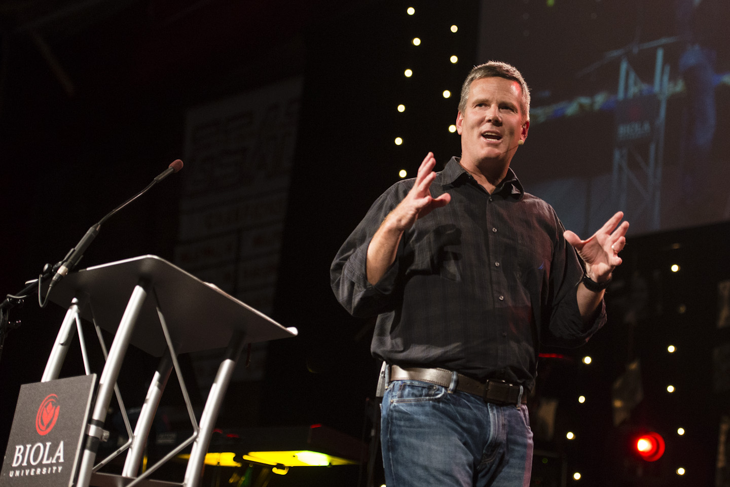Jimmy Seibert discusses sovereignty of God in second session