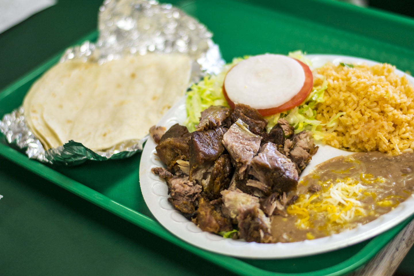 Authentic Mexican food for fast food prices