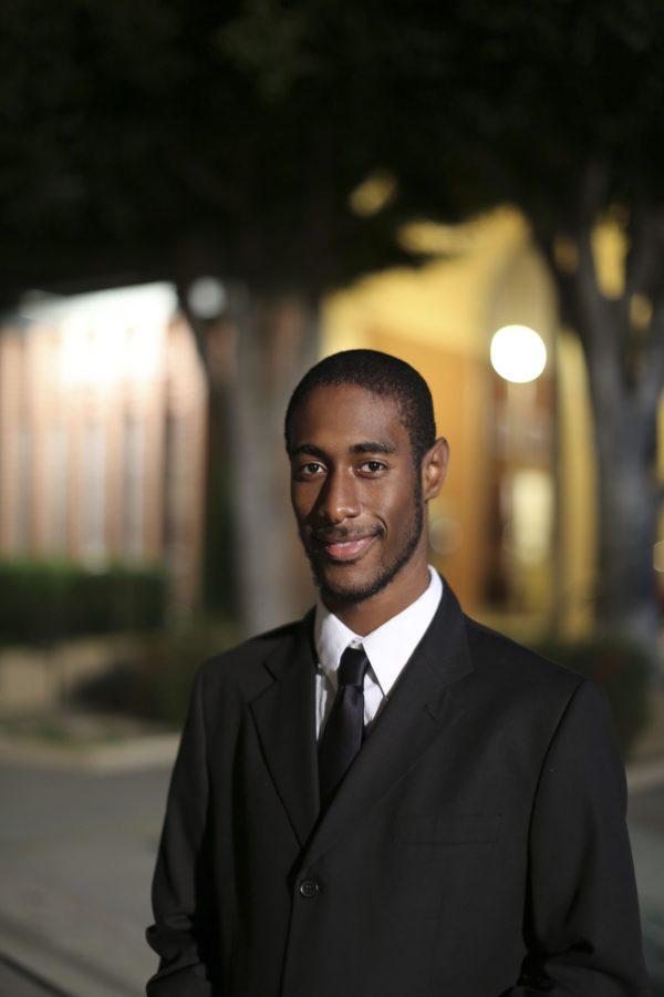 Randall White, junior music major. | Tomber Su/THE CHIMES