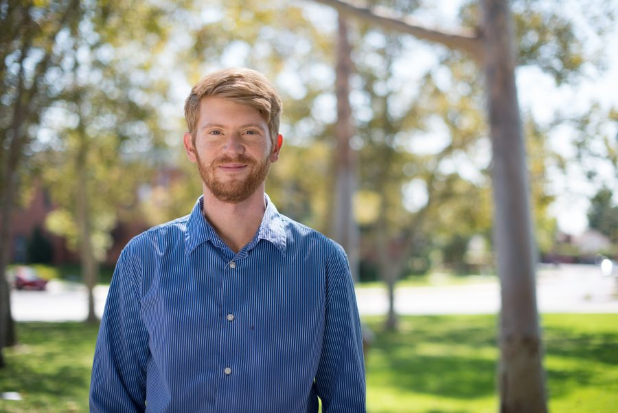 Brett McCracken is the social media manager and university writer, and managing editor for the Biola Magazine. | Olivia Blinn/THE CHIMES