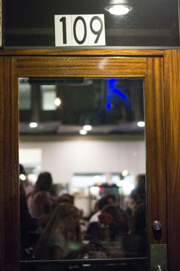Cafe 109, named after its address at 109 N. Harbor in Fullerton, had its grand opening on Saturday night. | Ashleigh Fox/THE CHIMES