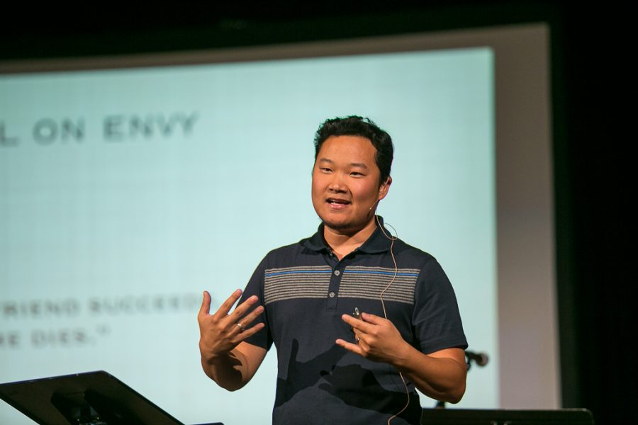 Mike Ahn, assistant director of chapel programs, led a workshop titled,