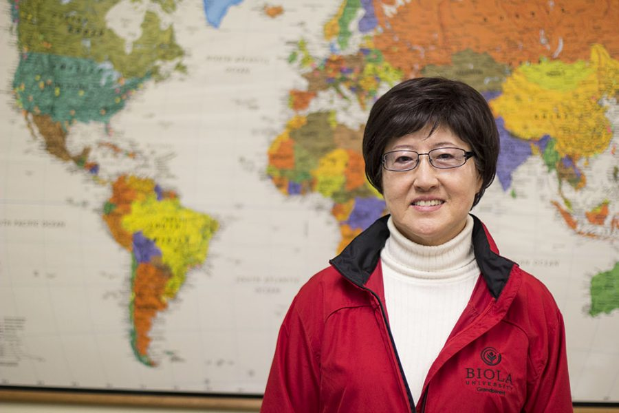Dr. Sung Lee founded the International Student Education Program, which helps incoming university students with their English language acquisition. | Natalie Lockard/THE CHIMES