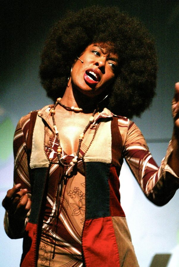 Brown embodies African-American women's history in her one-woman show. | Courtesy of Sandy Brown