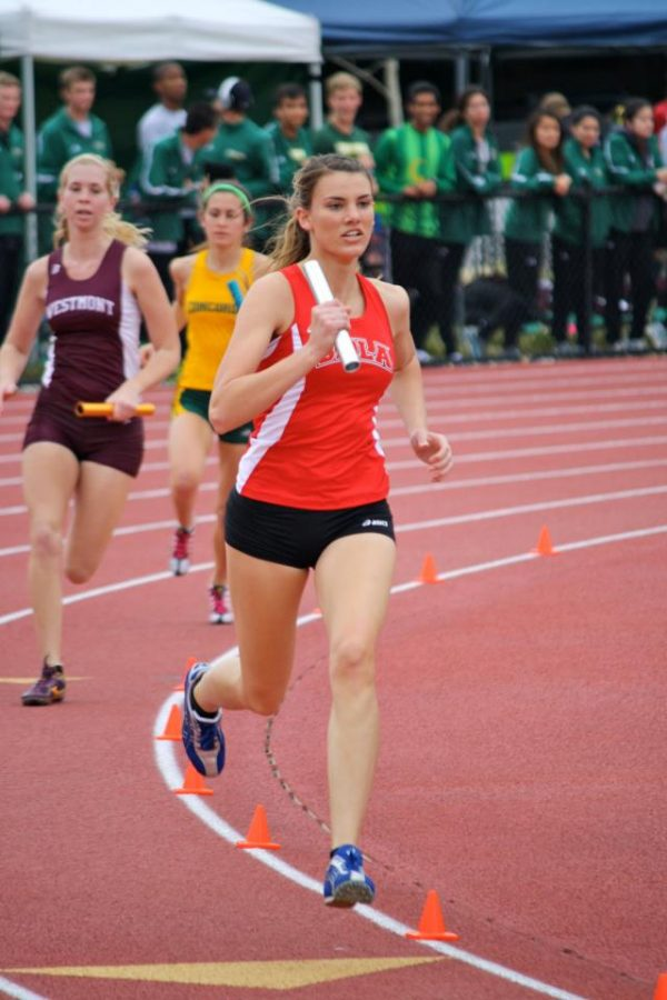 Senior Jessica Airey looks back on her four years on the Biola track and field team. | Courtesy of Jessi Kung