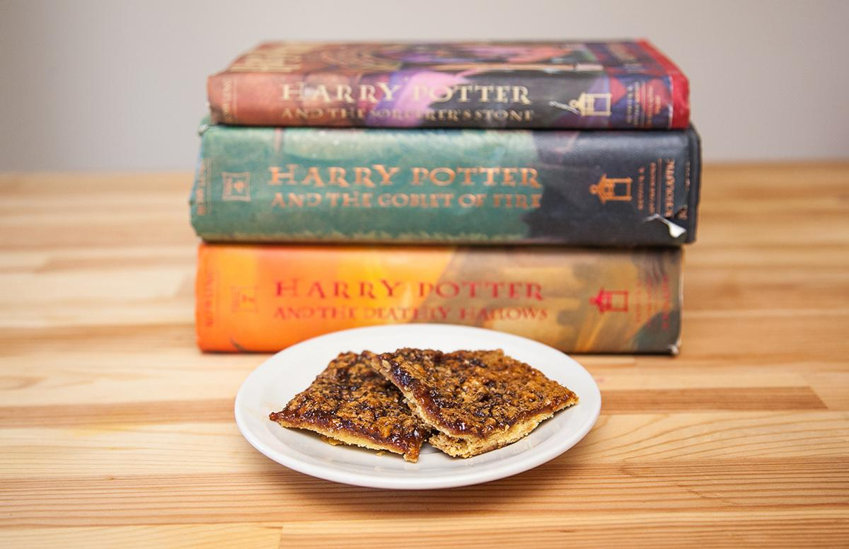 Magical tart from the world of Harry Potter