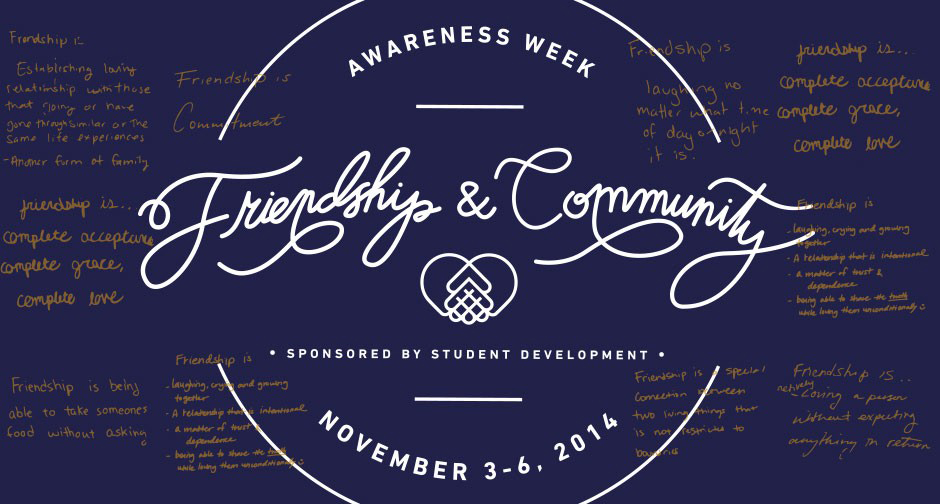 Speakers provide new perspectives on friendship during awareness week