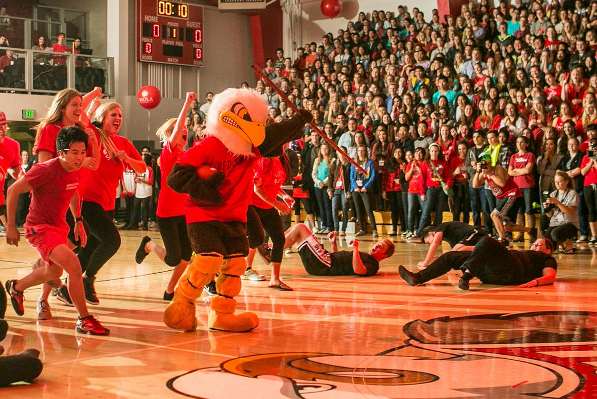 Students show their outgoing side during Midnight Madness last year. | Tomber Su/THE CHIMES [file photo]