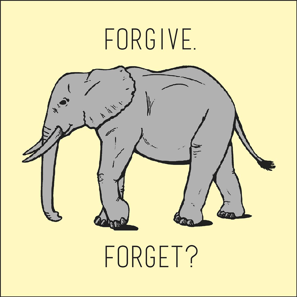 The Chimes staff considers what it means to forgive someone.   Illustrations by Jessica Byrd/THE CHIMES