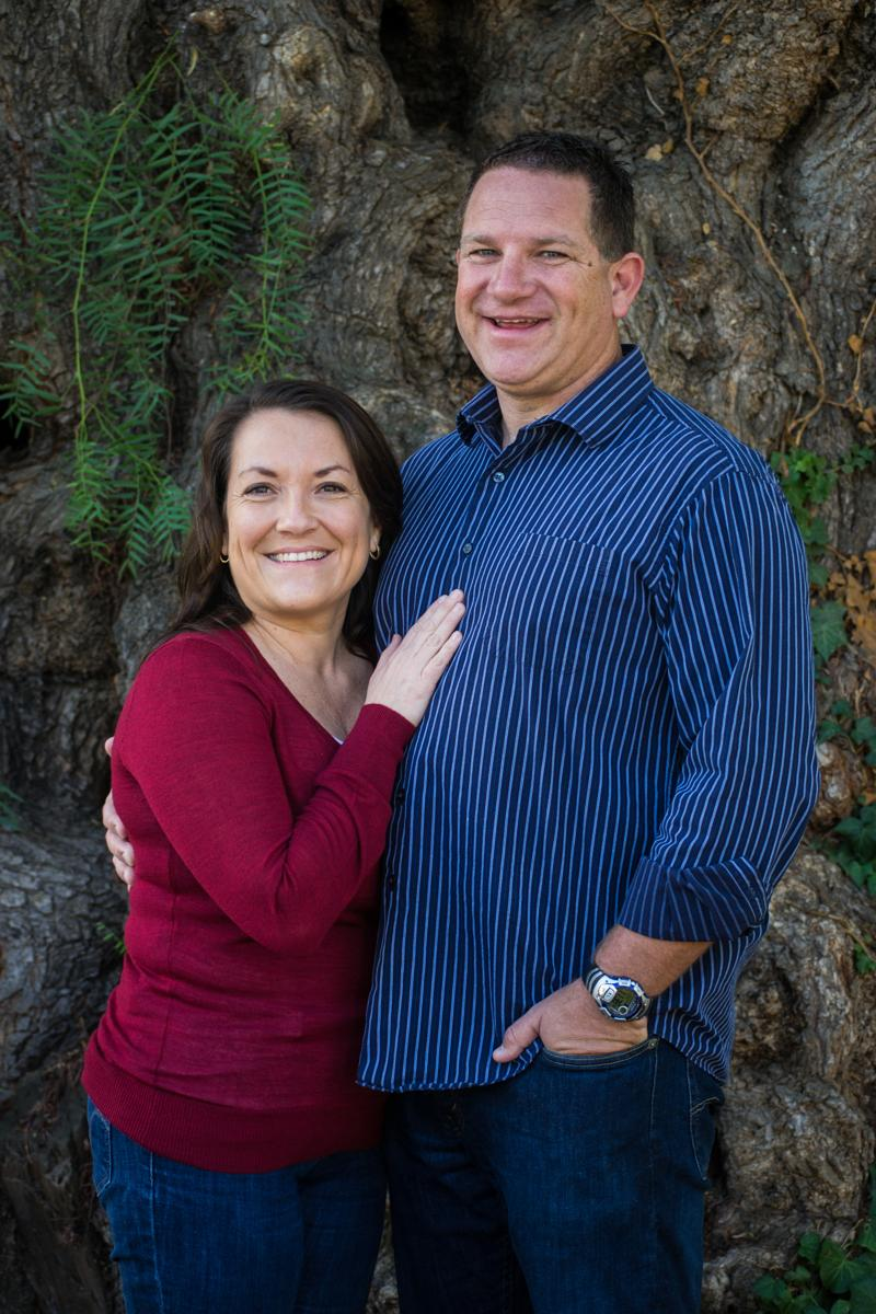 Professor Dave Keehn and wife, Debbie. | Kalli Thommen/THE CHIMES