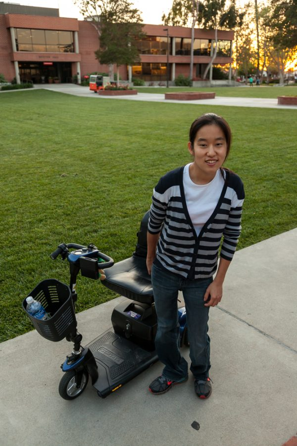 Senior Kelly Yang shares her perspective on how Biola can support disabled students in light of her own experiences with disability on campus. See her photo gallery below. | Melanie Kim/THE CHIMES