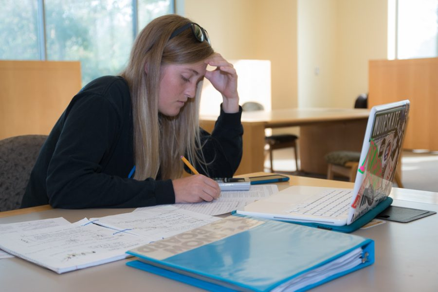 Students persevere through busy schedules