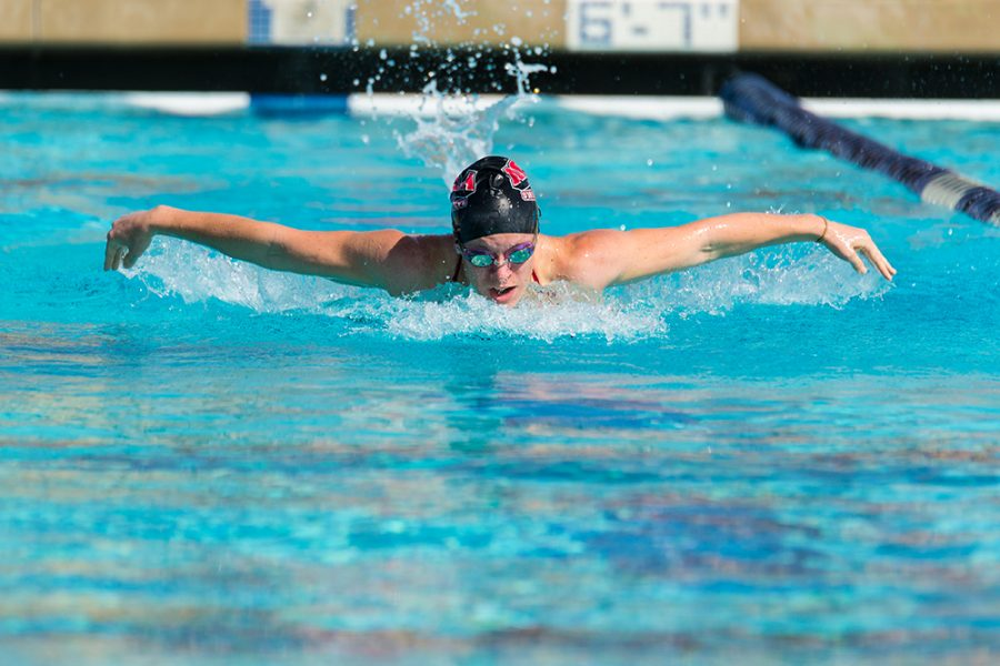 Swim and dive shatter records at Nationals